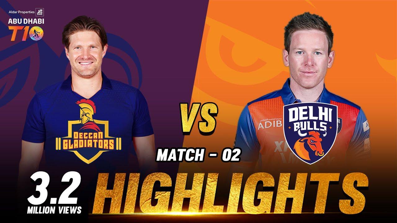 Download Match 2 I Deccan Gladiators vs Delhi Bulls I Day 1 I Aldar Properties Abu Dhabi T10 I Season 3