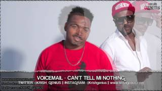Voicemail - Can-t Tell Mi Nothing [One Life Riddim] April 2013
