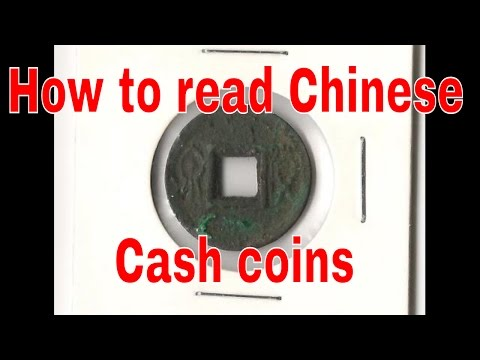 How To Read Chinese Cash Coins