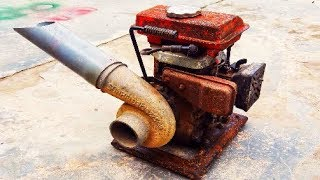 Restoration of pumps - old rust | Recovery Very old water pump