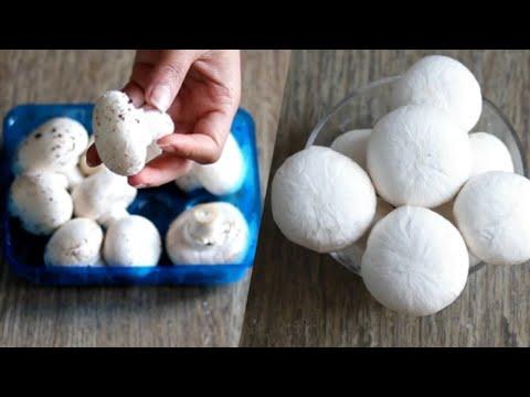 मशरूम साफ करने का  आसान तरीका |How to clean mushrooms before cooking |preparing mushrooms