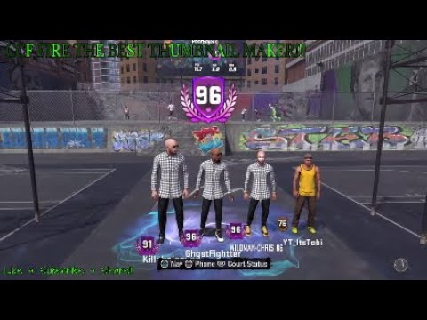 96 OVERALL REACTION & VIP WENT HORRIBLY WRONG LOL!!! CCF FIRE BEST  THUMBNAIL MAKER ON YOUTUBE!!!