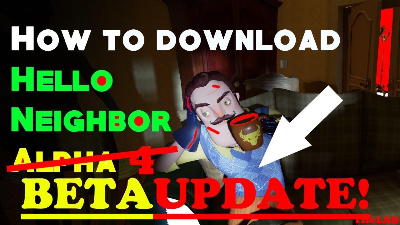 hello neighbor alpha 1 free download igggames
