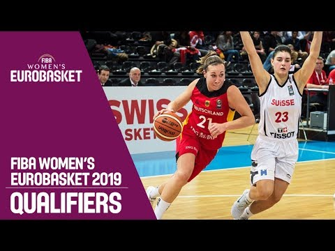 Switzerland v Germany - Full Game - FIBA Women's EuroBasket 2019 Qualifiers