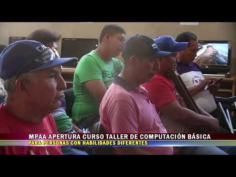 MPAA APERTURA CURSO TALLER DE CAPACITACIÓN BÁSICA PARA PERSONAS CON HABILIDADES DIFERENTES