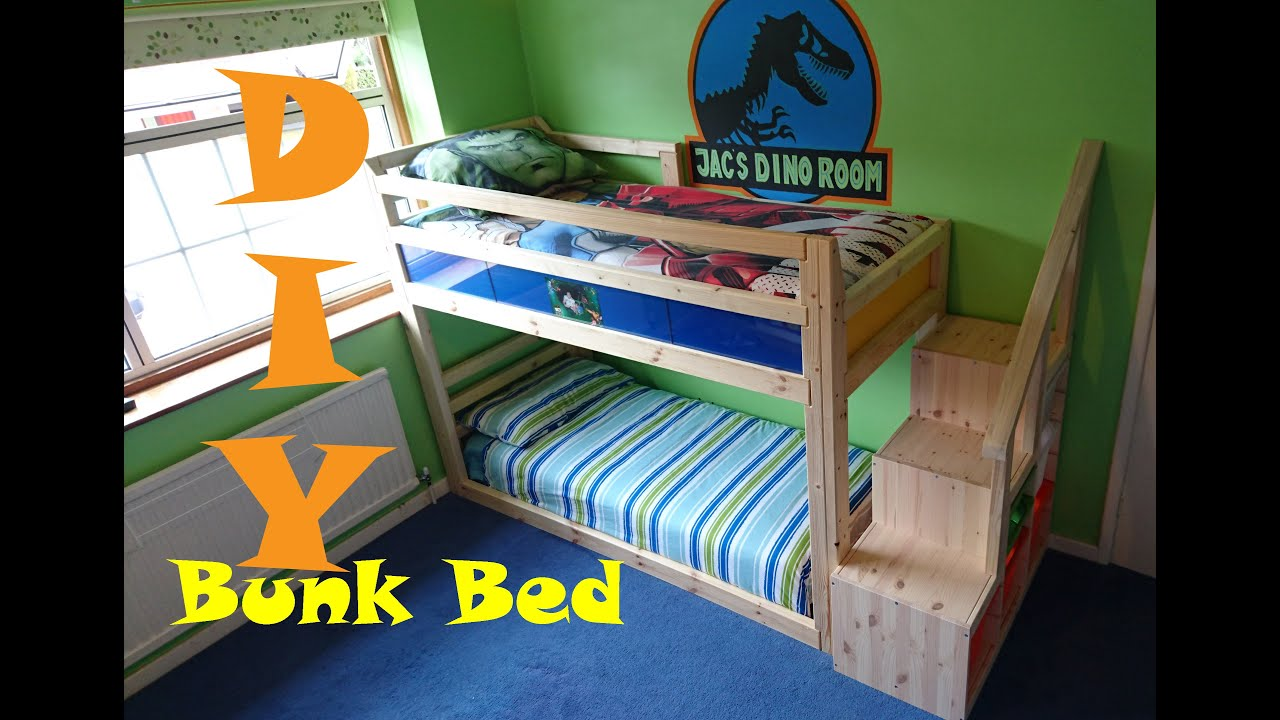 Chatters DIY Bunk Bed Under 80 YouTube