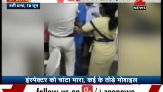 Drunk girl assaults Mumbai police in Worli
