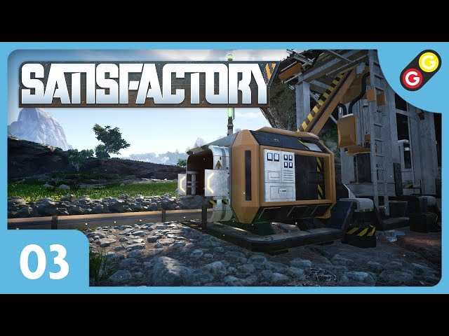 Satisfactory #03 On installe des foreuses automatiques ! [FR]