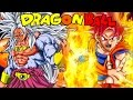 Super Saiyan God Goku Vs Super Saiyan 5 Broly Dragon Ball Z ZEQ2 Revolution Gold Edition