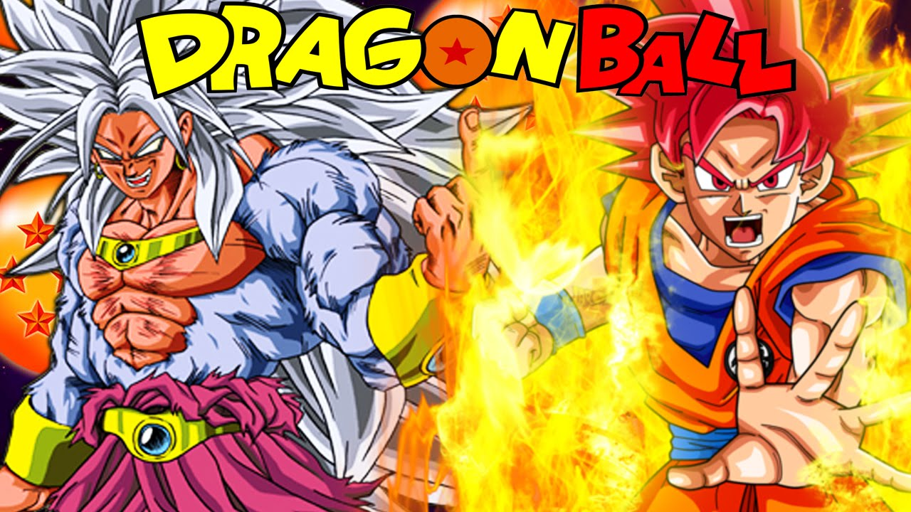 Super saiyan god goku vs super saiyan 5 broly dragon - Goku 5 super saiyan ...