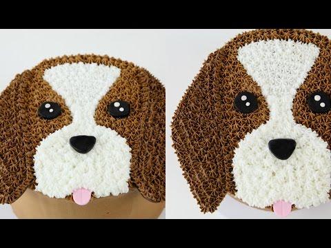 Amazing Cake Decorating Dog Cake
