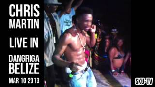 CHRIS MARTIN - HOTTA DAN DEM (Live in Dangriga, Belize - Mar 10th 2013)