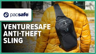 Pacsafe Venturesafe X Anti-Theft Sling Pack Quick Look Review