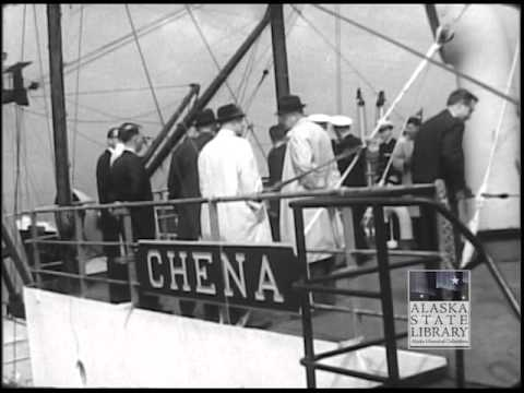 Steamship Chena Award Ceremony (PCA044 Skinner Foundation Photograph Collection-asl_p44_16mm_film_6)