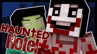 Haunted Hotel: KILLING JEFF THE KILLER! (Minecraft Roleplay) #3