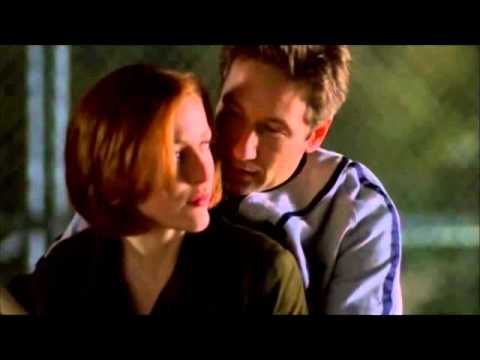 {X-Files} Mulder and Scully play baseball