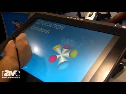 InfoComm 2015: Wacom Demonstrates DTK-2241 Interactive Display for Education