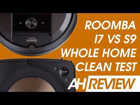 iRobot Roomba s9 vs Roomba i7 - Whole Home Cleaning Test