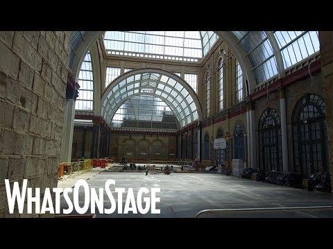Alexandra Palace Theatre | Backstage tour