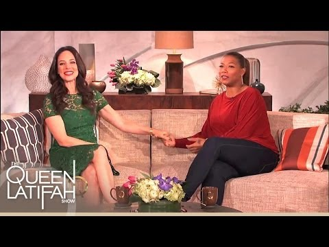 Madeleine Stowe Does a Little Dance For Queen Latifah