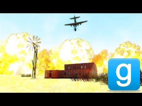 Massive EXPLOSIVE Artillery in Gmod!