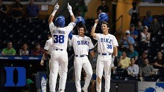 Duke's Michael Rothenberg Smashes 1st Inning Grand Slam