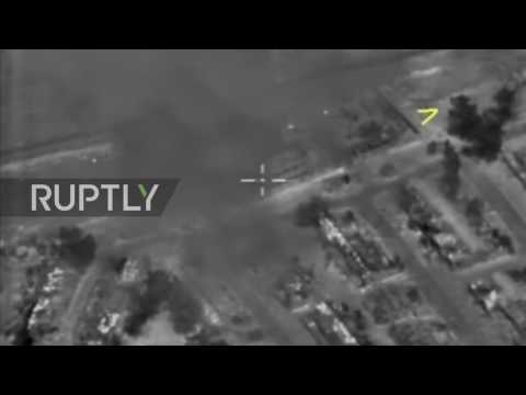 Syria: Drone shows Russian Navy