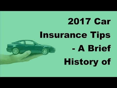 2017 Car Insurance Tips |  A Brief History of Mandatory Car Insurance