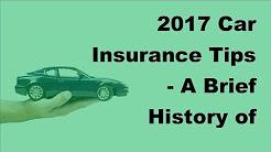 2017 Car Insurance Tips |  A Brief History of Mandatory Car Insurance