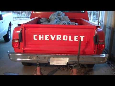 1986 chevy c10 rear bumper