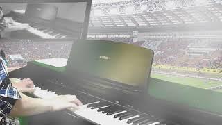 [piano] Theme of Captain Tsubasa / キャプテン翼OP 燃えてヒーロー