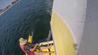 Mission Bay Sailing: Drew, Brad and Sunshine