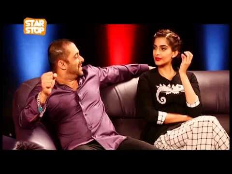 Salman Khan & Sonam Kapoor Exclusive Interview | Prem Ratan Dhan Payo | B4U Starstop Part 1