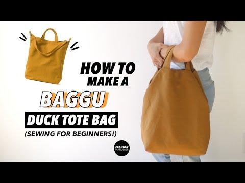 DIY Tote Bag (Free Bag Pattern!)   Fashion Wanderer