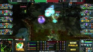CiC Pro League Semi-Finals #2 - Sync vs KNX game 2