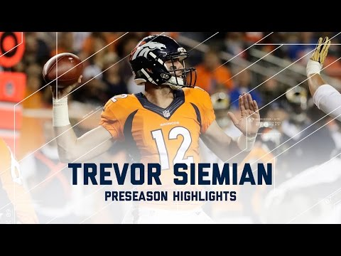 Every Trevor Siemian Throw from Week 3 | Rams vs. Broncos | NFL