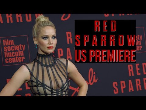'Red Sparrow' US Premiere