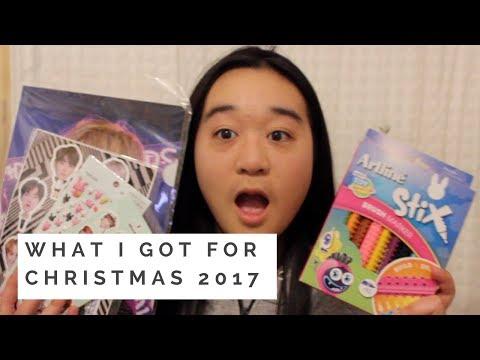 WHAT I GOT FOR CHRISTMAS 2017 // BASICALLYKATHERINE