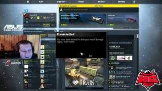 Маркелова забанили в мм \\ Markeloff banned on mm for teamkill
