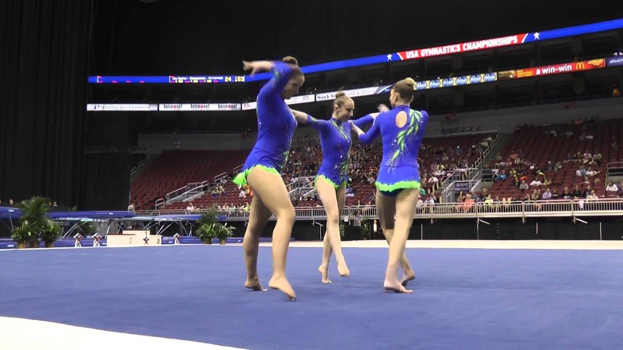 Winwin gymnastics - Silverman Antoniades Ruppert Dynamic 2014 Usa Gymnastics Championships