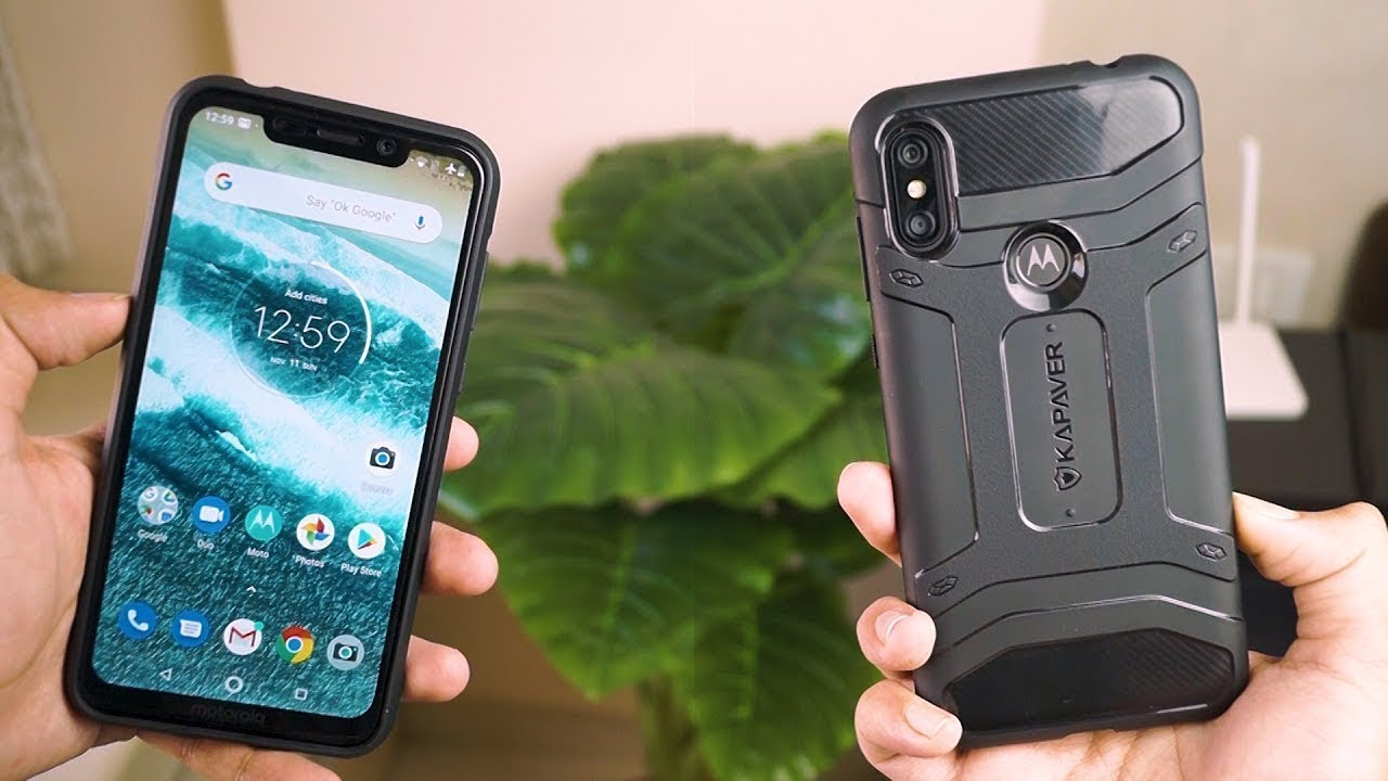 new style 93d06 2a61d BEST BACK COVER CASES FOR MOTO ONE POWER IN INDIA WITH PRICE 2018