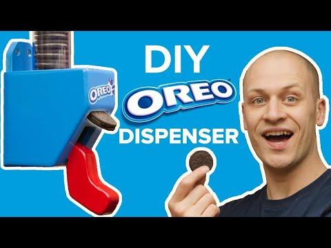 A.J. - A Do-It-Yourself Hands Free Oreo Dispenser