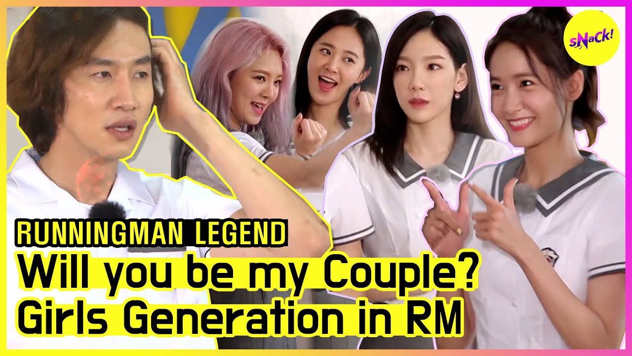 [RUNNINGMAN THE LEGEND] Variety Queens👑 SNSD is back! Heart Shaking Couple Matching🤭 (ENG SUB)