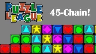 Puzzle League (GBA) - 45 Chain