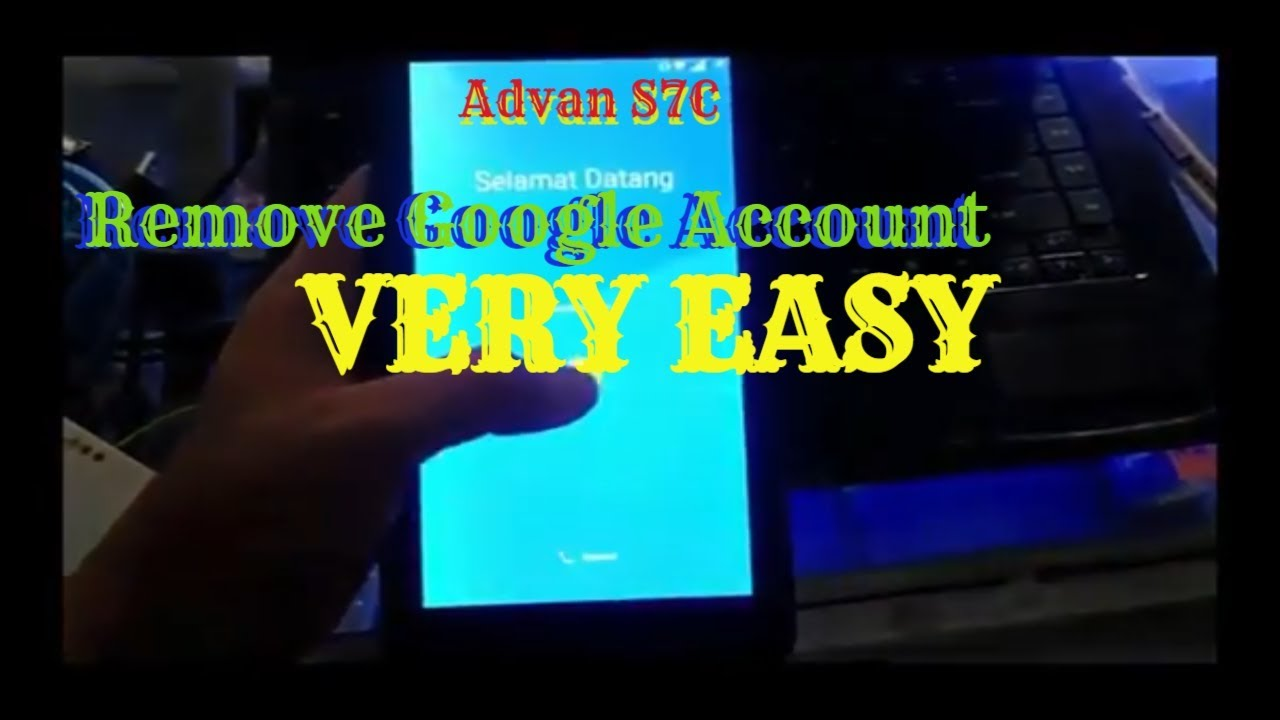 Advan S7c Frp Remove Google Account Full Flash Youtube