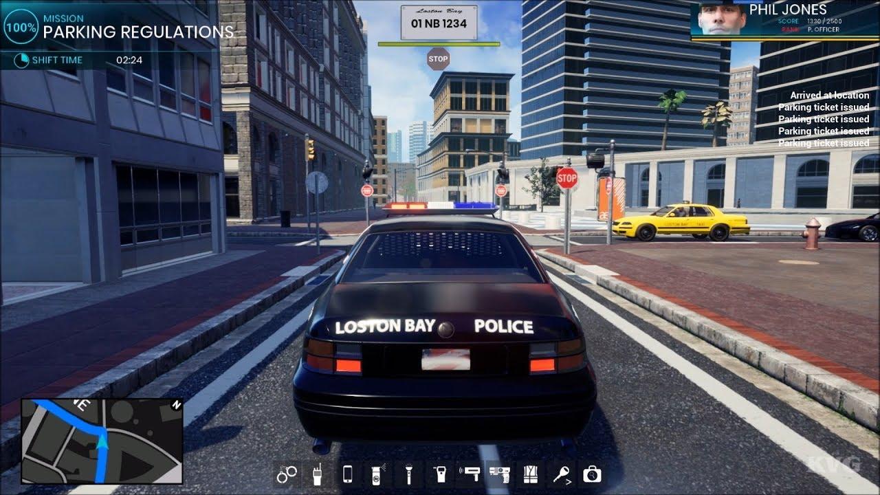 Playthrough Parking Regulations - Open World - Police Simulator
