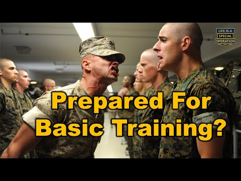 How To Prepare & Train For Basic Training - Boot Camp