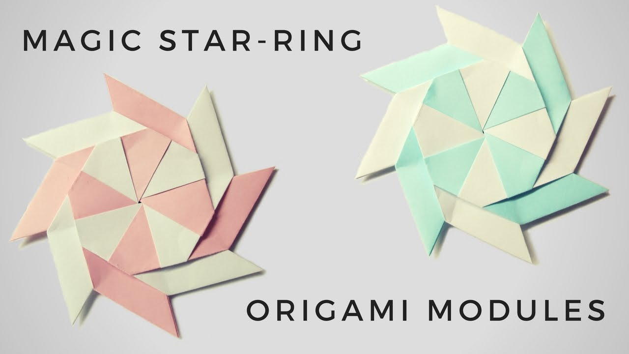 Origami from modules: history and features of art 26