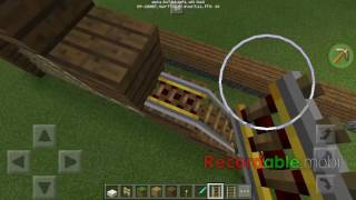 THEME PARK TYCOON IN MINECRAFT PE! (INSPIRED BY ROBLOX)!!!!!