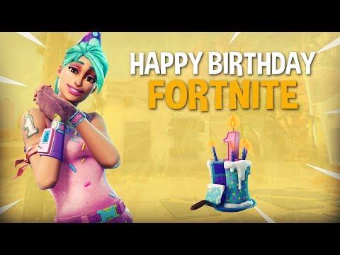 Happy Birthday Fortnite! 20 Frag Solo Gameplay - Fortnite Battle Royale Gameplay - Ninja